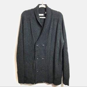 Daniel Buchler | mens grey sweater | Size XL